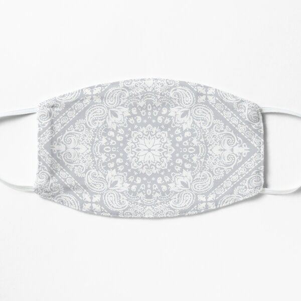 masque bandana blanc Masque sans plis