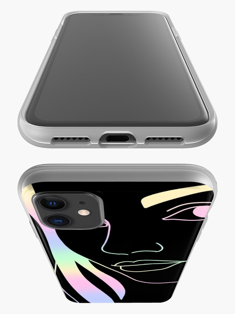 Alternate view of Summer vibe portrait phone case iPhone Case & Cover