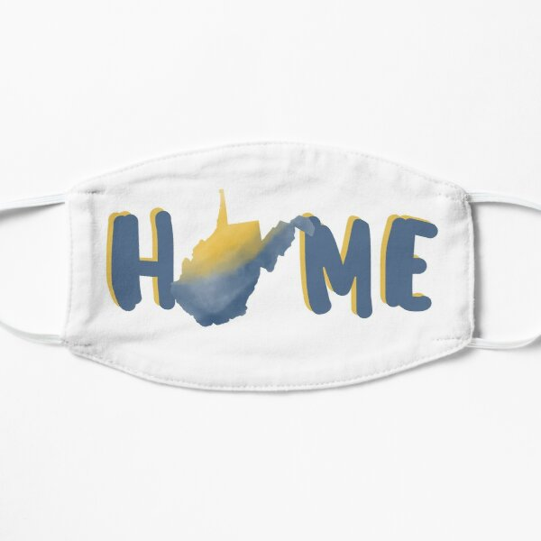 Home West Virginia Watercolor Shirts Stickers Gifts Mask