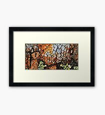 coloured by nature  Framed Print