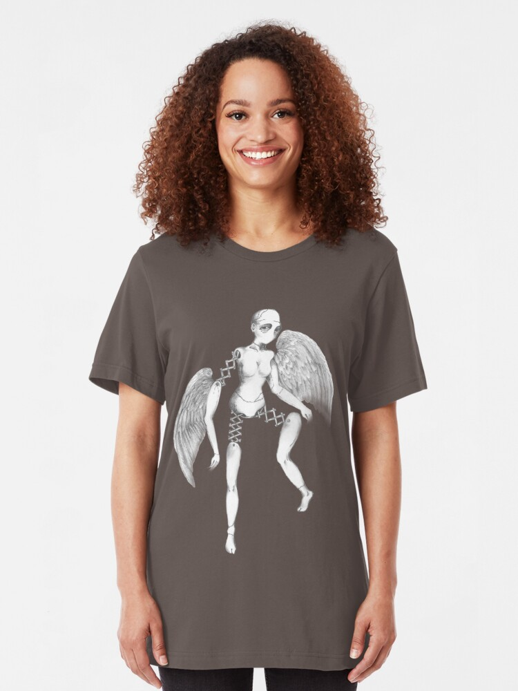Alternate view of Broken Angel Slim Fit T-Shirt