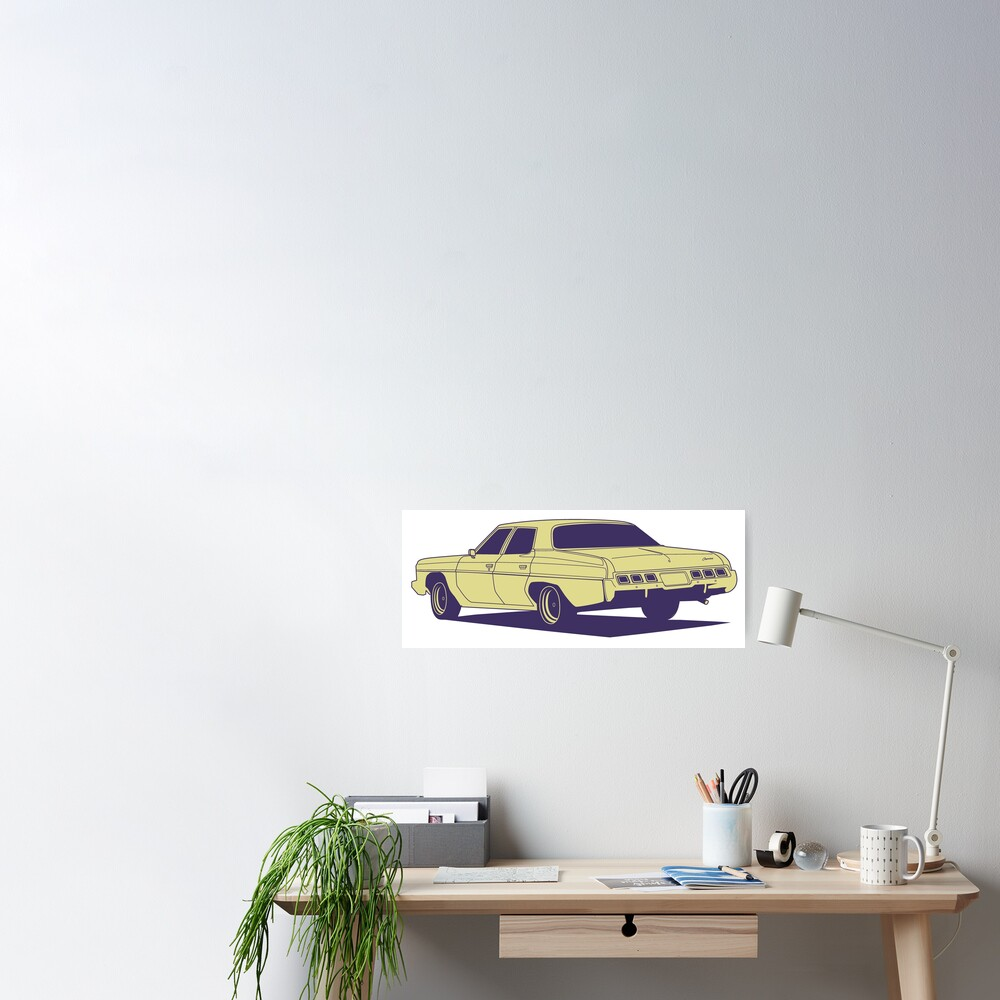 Chevrolet Caprice 1973 Poster