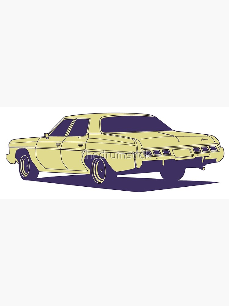 Chevrolet Caprice 1973 by thedrumstick
