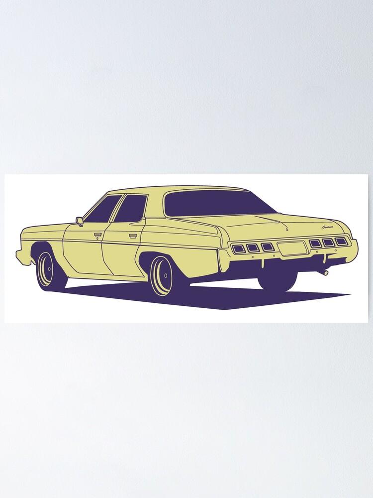 Alternate view of Chevrolet Caprice 1973 Poster