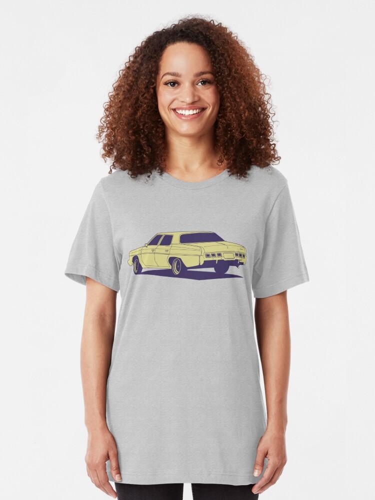Alternate view of Chevrolet Caprice 1973 Slim Fit T-Shirt