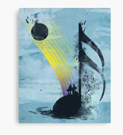 summer tune Canvas Print