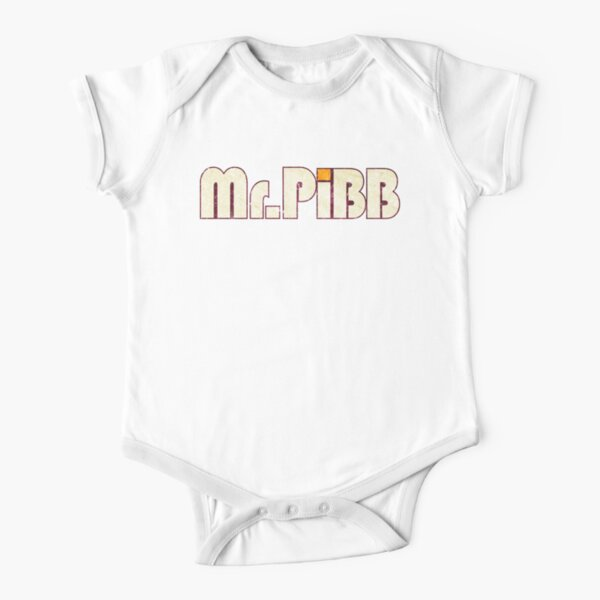 Mr. Pibb Short Sleeve Baby One-Piece