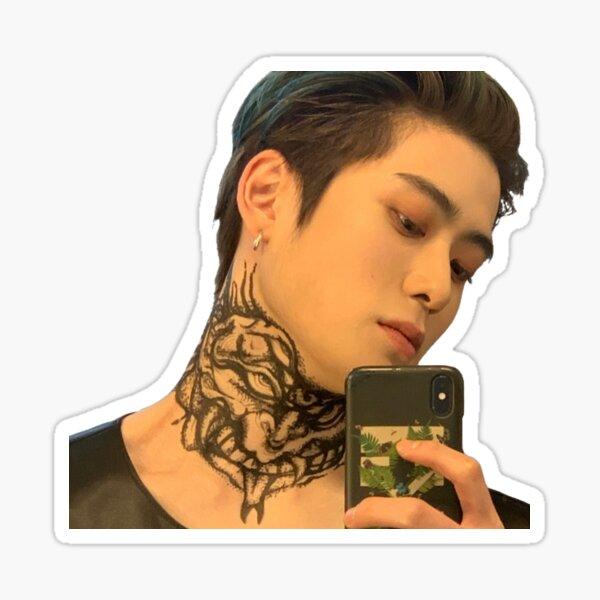 Jaehyun Punch Selfie Pegatina