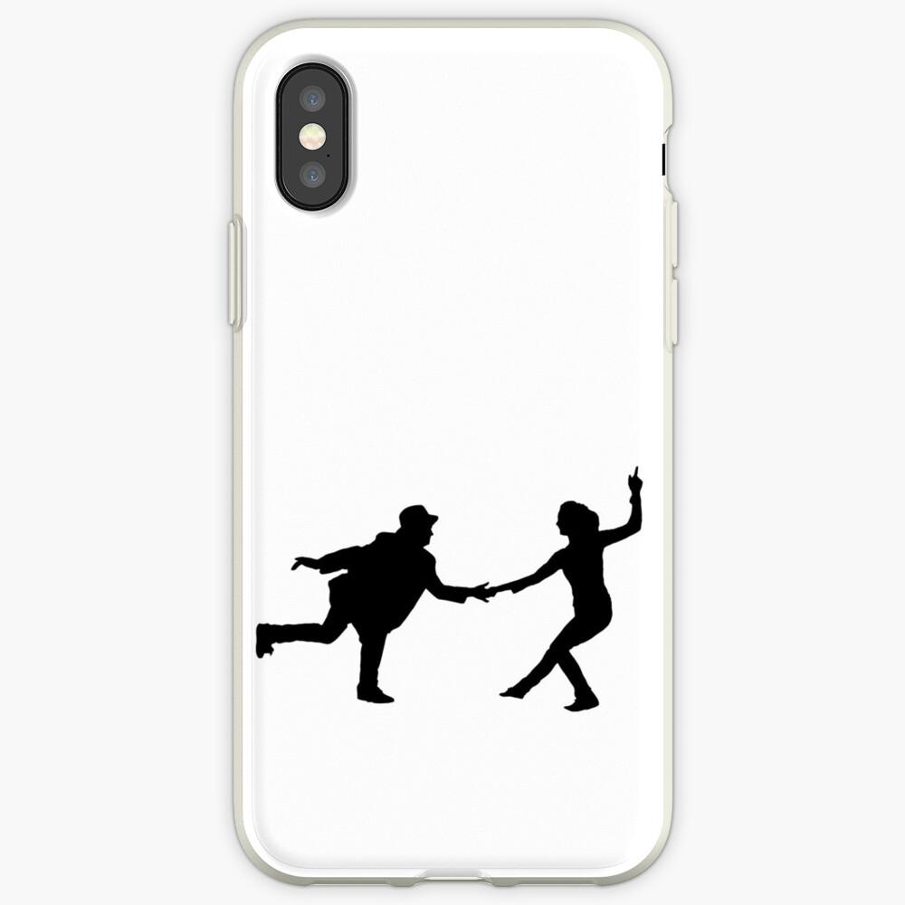 Baile swing Funda y vinilo para iPhone