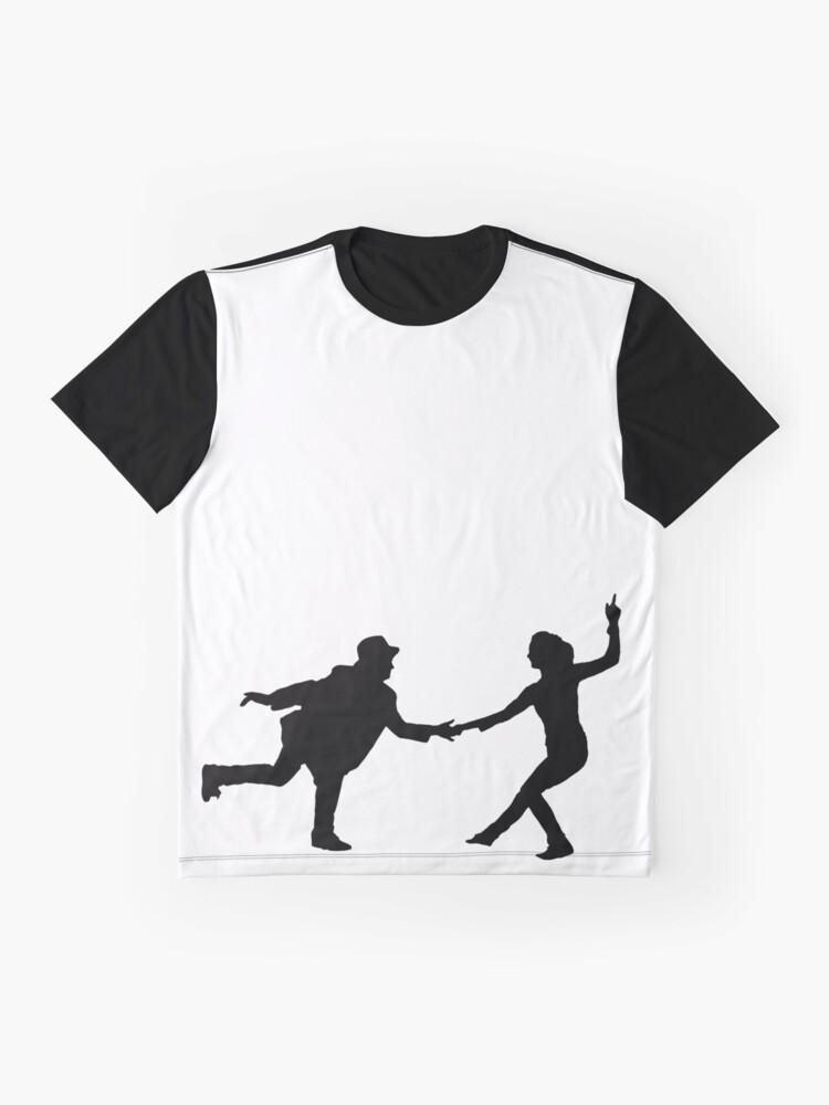 Vista alternativa de Camiseta gráfica Baile swing