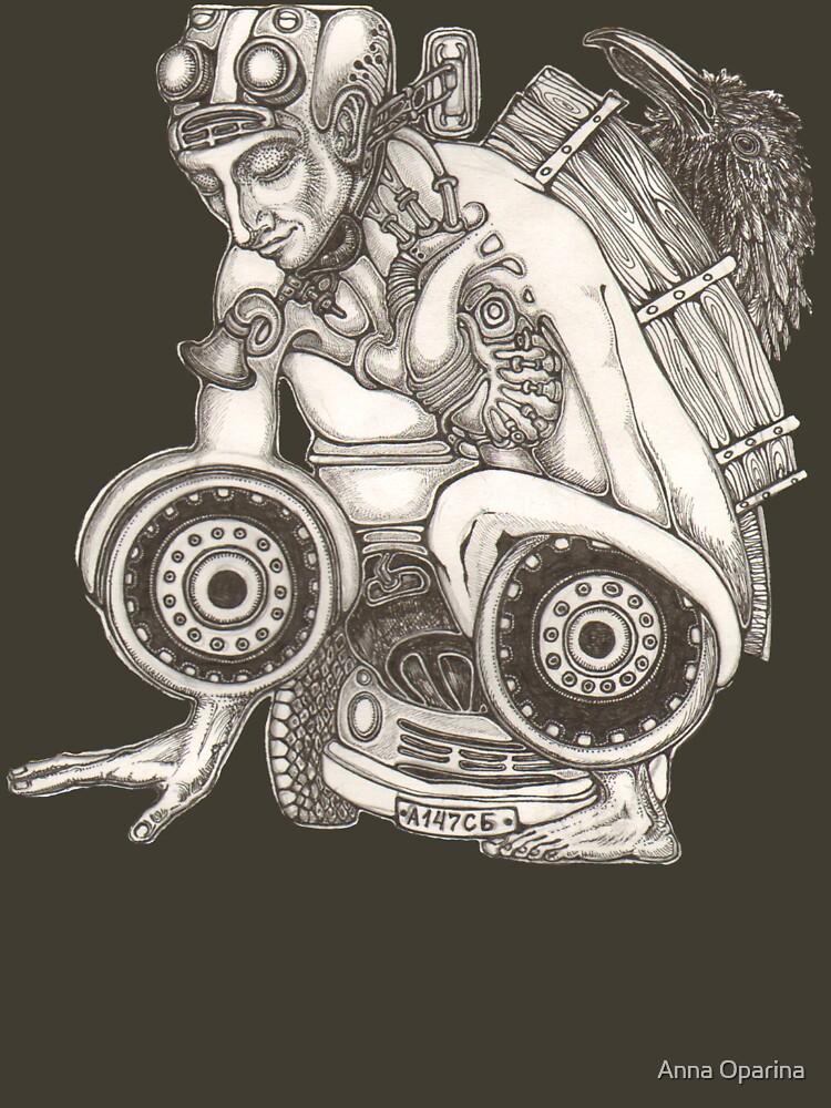 Automobile Heart & Soul by Oparina