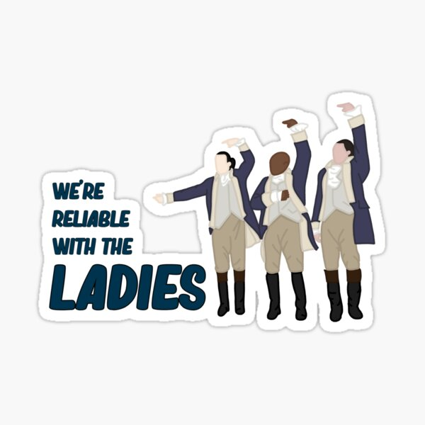 We're reliable with the LADIES (HAMILTON) Sticker