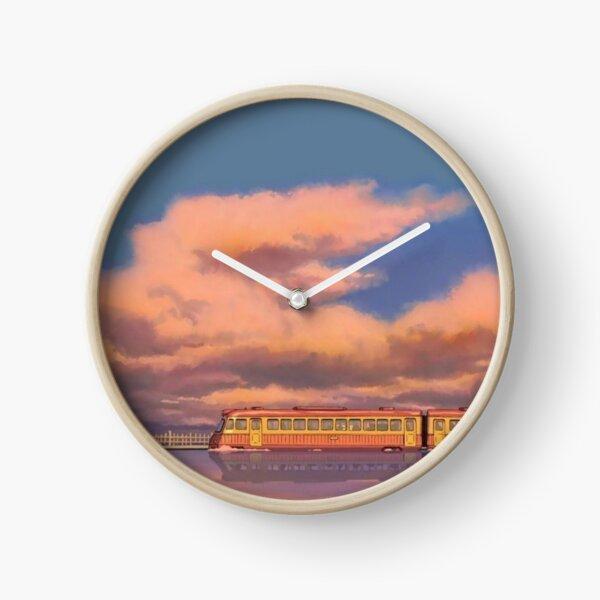 Spirited Away - Chihiro's Journey Clock