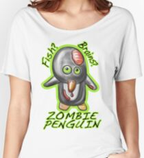 Zombie Penguin Women's Relaxed Fit T-Shirt