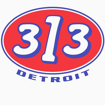 Detroit 313 Oval  by davidkyte