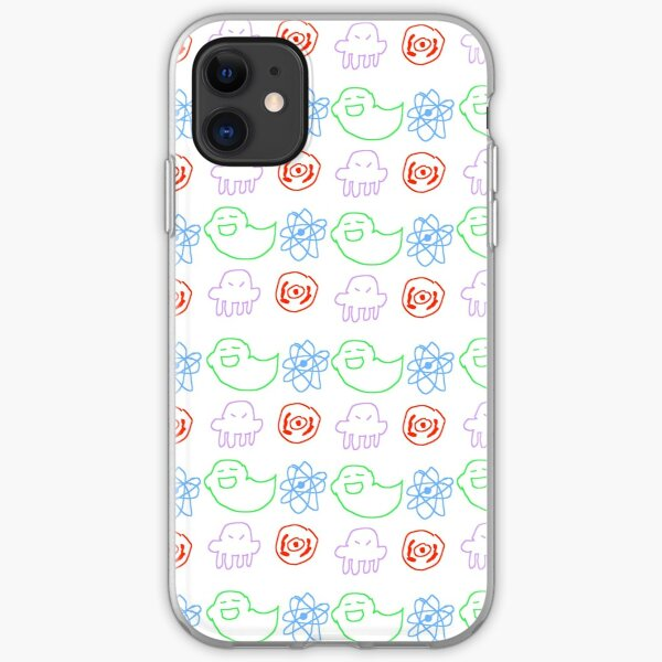 Beta Kid Symbol Doodles iPhone Soft Case