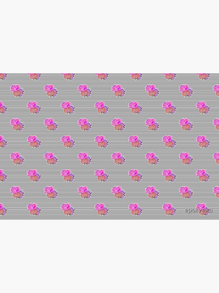 Stripes with Flower Detail Pattern by epoliveira
