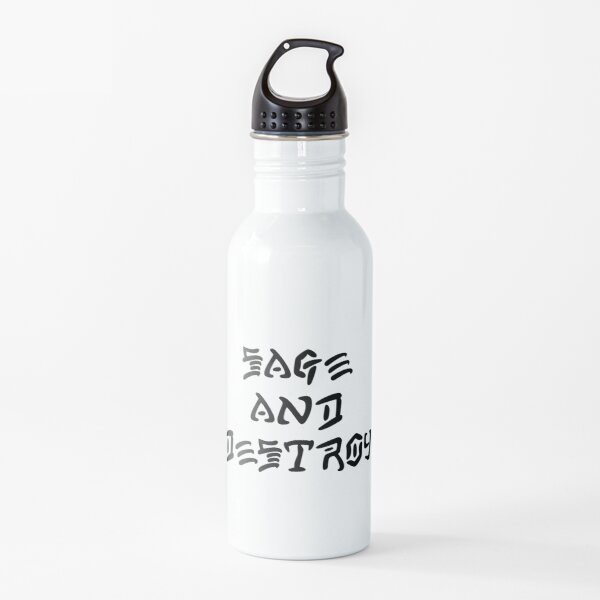 Sage and Destroy  Water Bottle