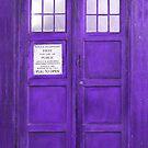Purple Tones Retro Phone Boot by artonwear