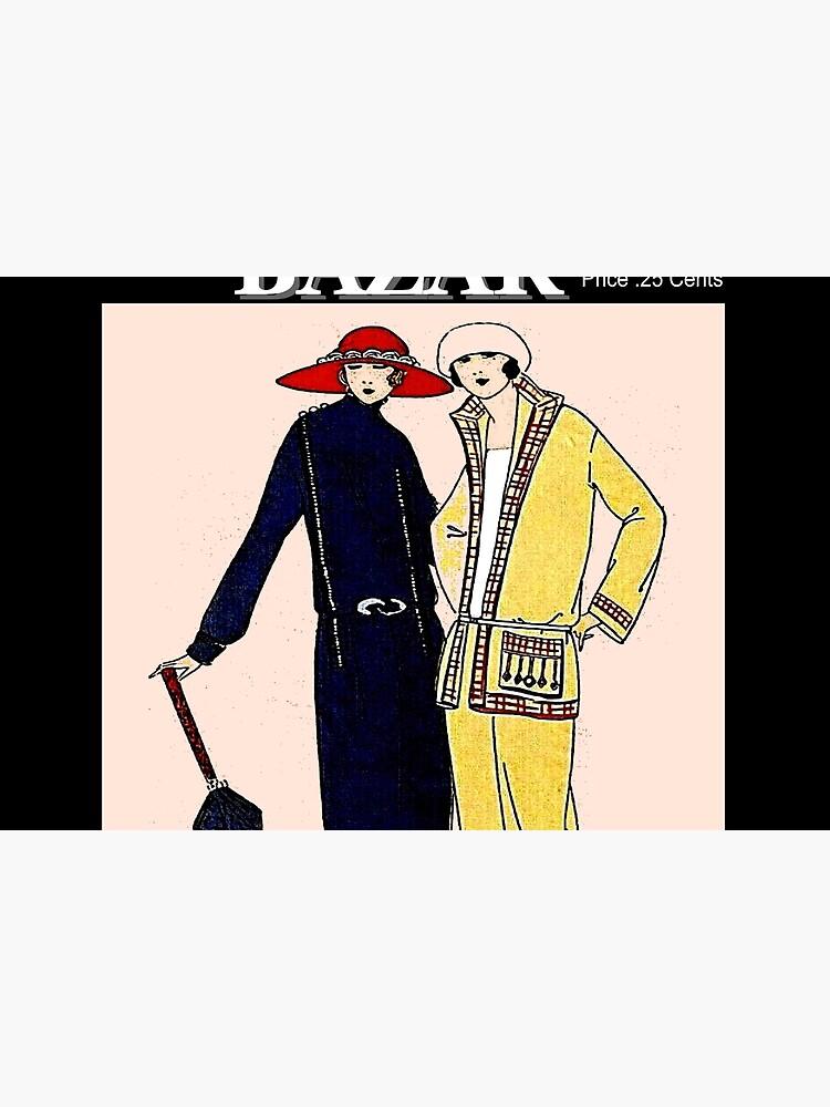 HARPERS BAZAR : Vintage 1923 Magazine Advertising Print by posterbobs