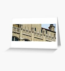 Simulated battlements Greeting Card