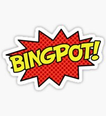 BINGPOT! Sticker