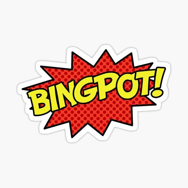 BINGPOT! Sticker