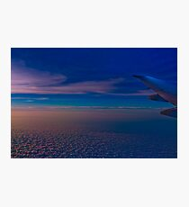 Flight to New York Photographic Print