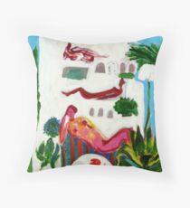 Mediterranea Throw Pillow