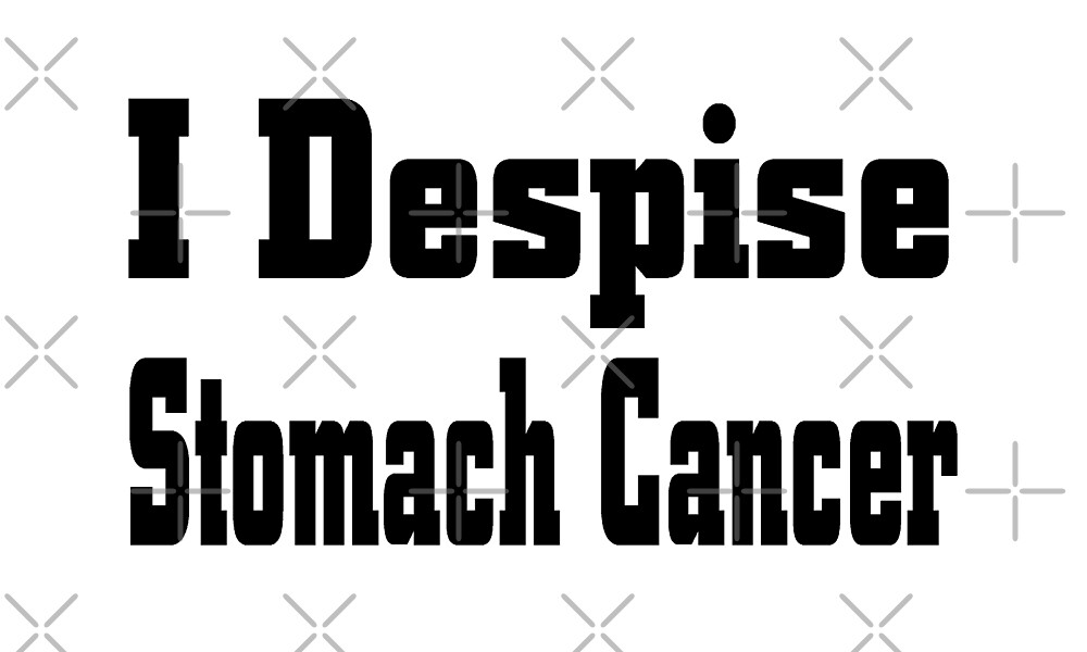 I Despise Stomach Cancer - Stomach Cancer Awareness T Shirt  by greatshirts