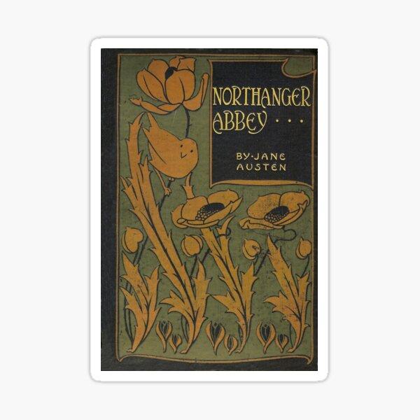 Northanger Abbey by Jane Austen (vintage book cover) Sticker