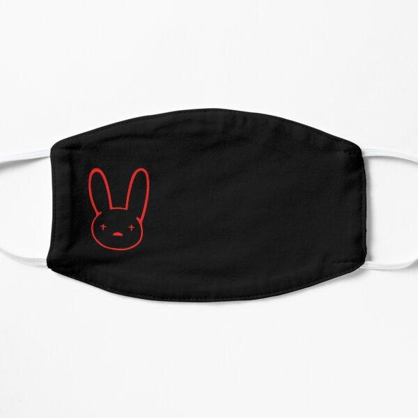 Bad Bunny Mascarilla plana