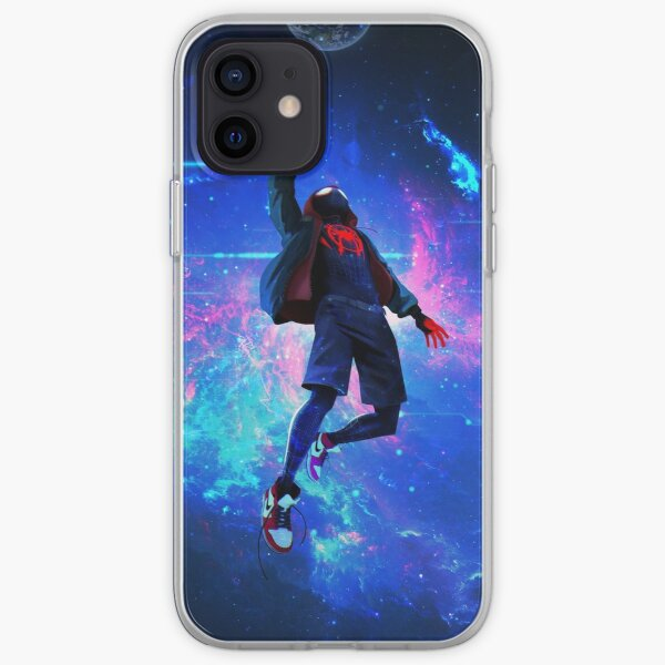 4K New Spiderman Coque souple iPhone