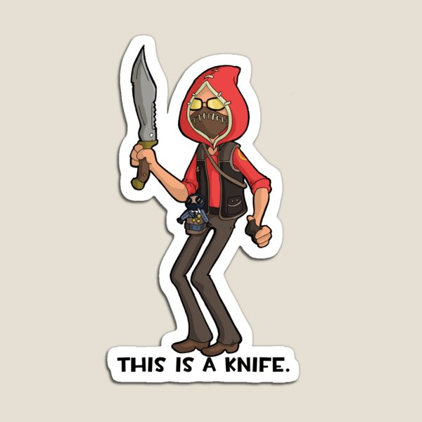 This is a Knife Magnet