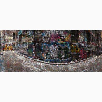 Hosier Lane mosaic by shotimagery