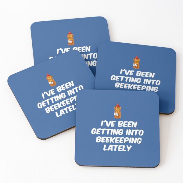 I've getting into beekeeping lately | Quote from Rick and Morty  Coasters (Set of 4)