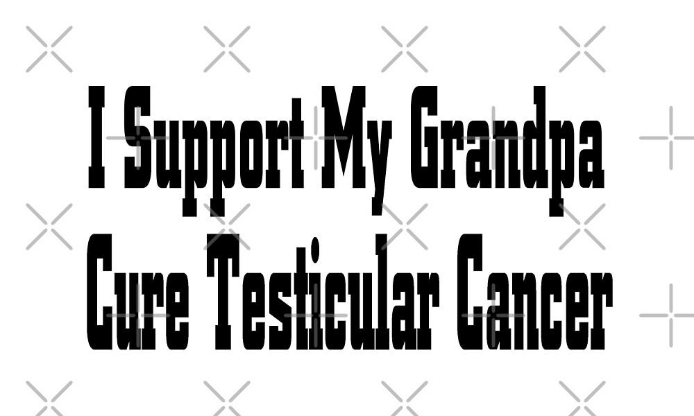 Testicular Cancer by greatshirts