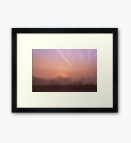 Moments of Sunrise Framed Print