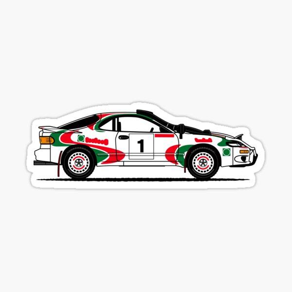 GT Four Rally Car Sticker