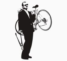 Bill Murray Stealing a Bike