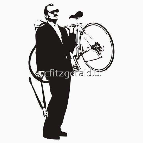 TShirtGifter presents: Bill Murray Stealing a Bike