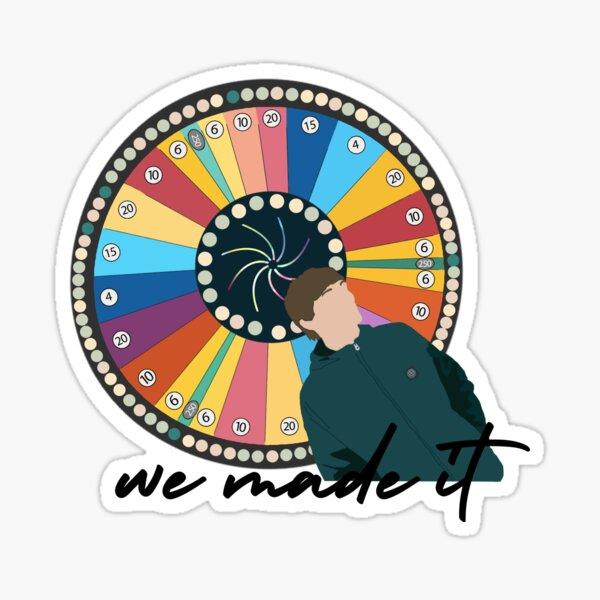 Lo hicimos rueda Pegatina