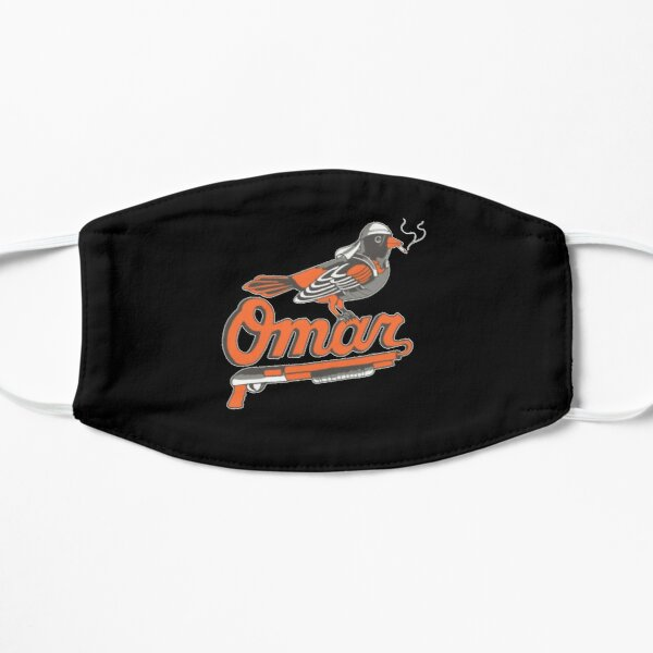 Omar The Wire Baltimore Oriole Flat Mask