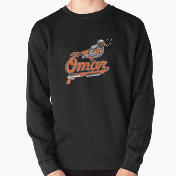 Omar The Wire Baltimore Oriole Sweatshirt épais