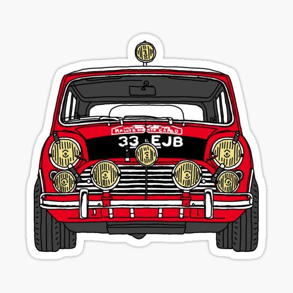 Cooper S Rally Car Sticker