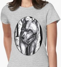 Loup. Women's Fitted T-Shirt