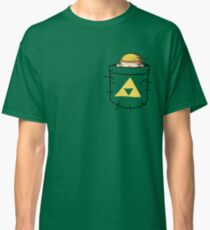 Pocket Link (with triforce) Classic T-Shirt