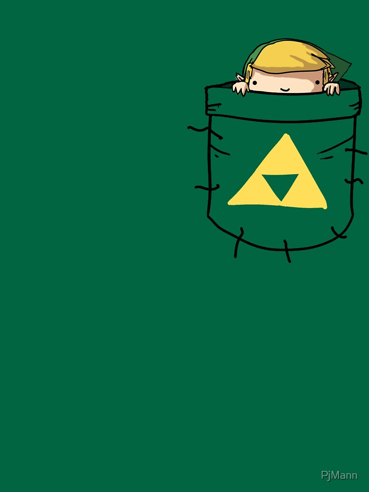 Pocket Link (with triforce) | Unisex T-Shirt