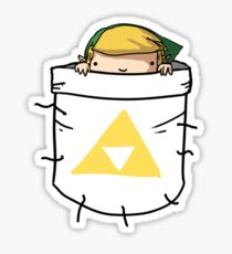 Pocket Link (with triforce) Sticker