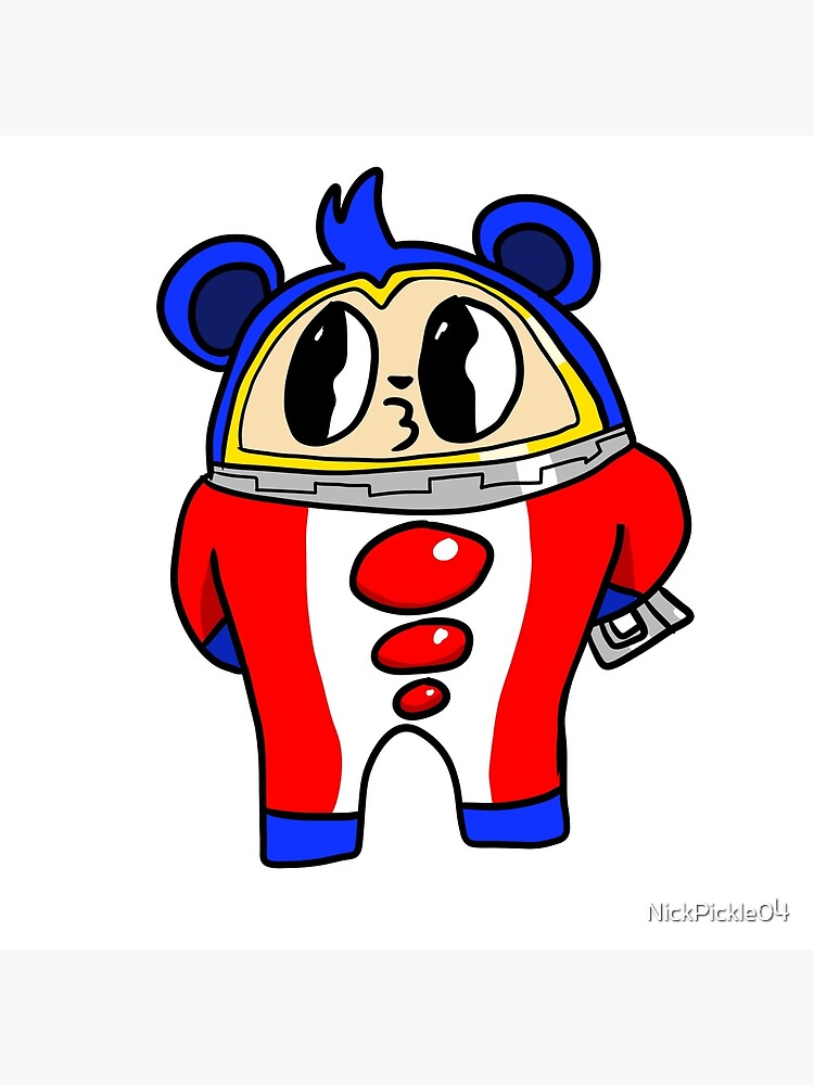 Teddie Persona 4 Art Board Print By Nickpickle04 Redbubble Persona 4 main character index the investigation team (yu narukami) | shadows and … also a genderswapped version for the guys: redbubble